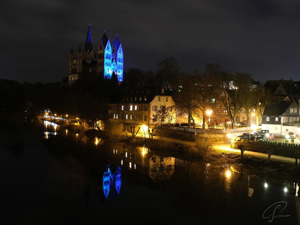 Der Dom beim Limburger Lichterfest