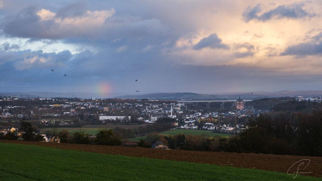 Himmel über Limburg
