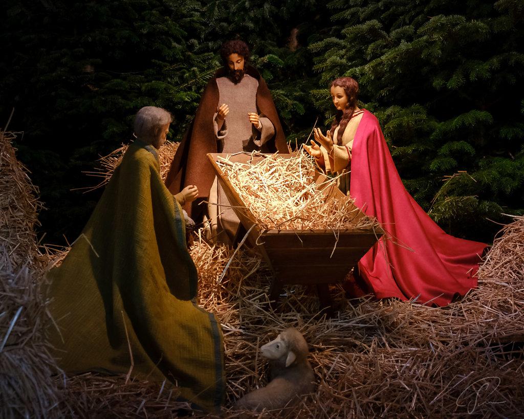 Weihnachtskrippe in der St. Pauluskerk Vaals (NL)