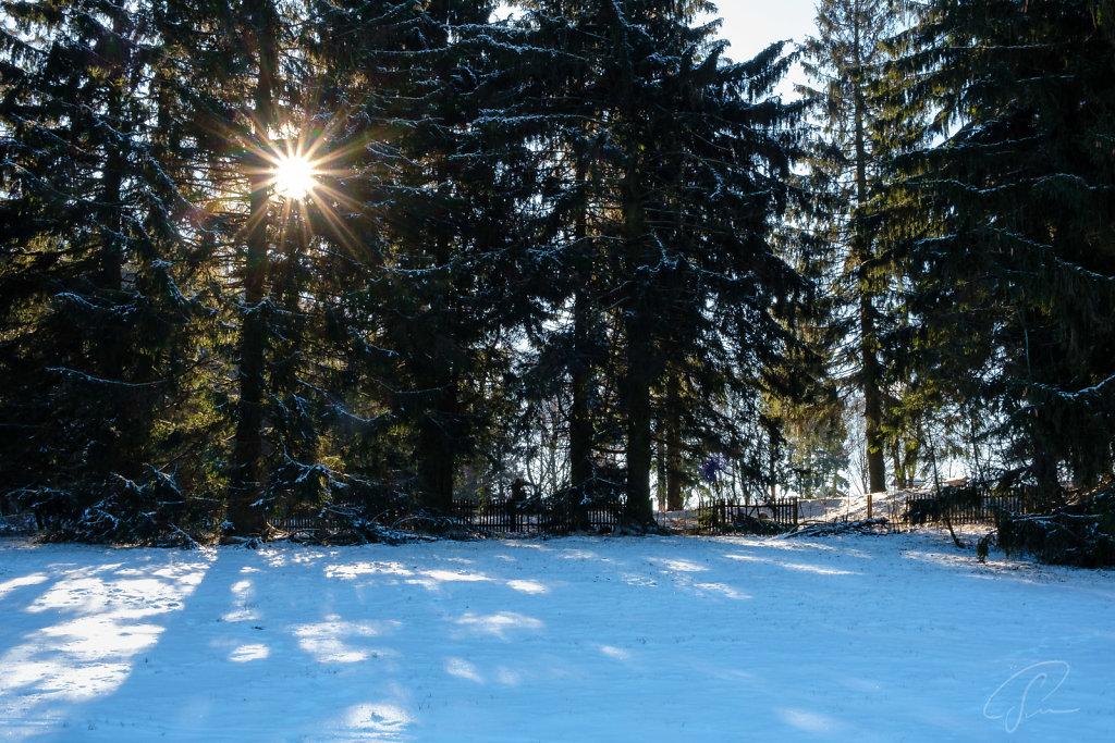 Fuchskaute - Höchste Stelle im Westerwald